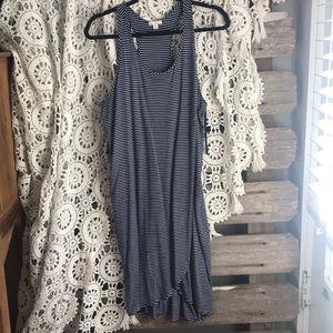 GAP wrap-style striped dress!
